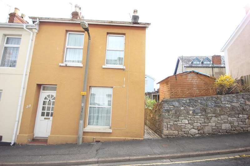 2 Bedrooms End Of Terrace House for sale in Prospect Terrace, Newton Abbot