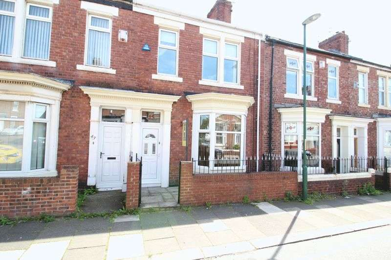 4 Bedrooms Terraced House for sale in Oxford Avenue, South Shields