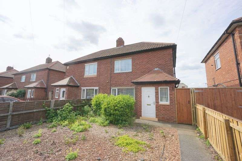 2 Bedrooms Semi Detached House for sale in FARNE ROAD, Forest Hall