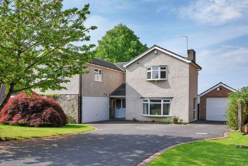 5 Bedrooms Detached House for sale in Barrowcliffe Close, Barrow Upon Soar