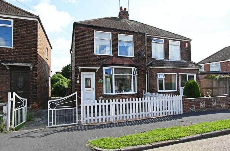 2 Bedrooms Semi Detached House for sale in Bon Accord Road, Hessle