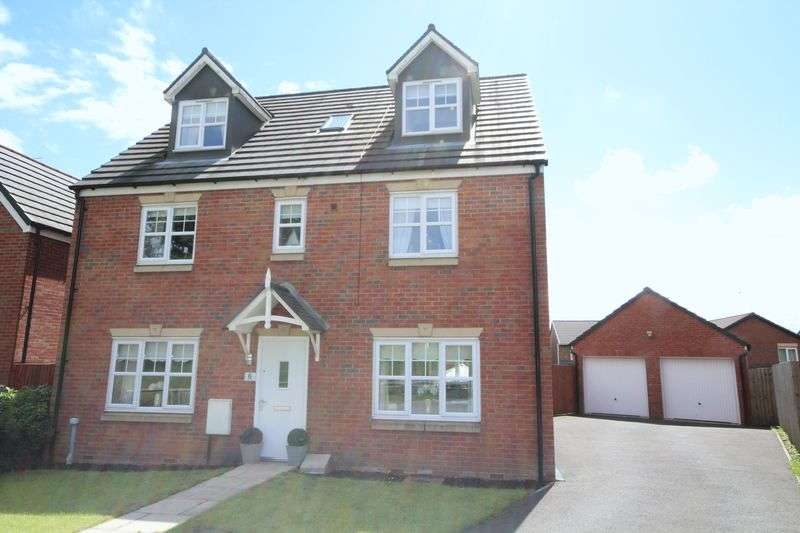 6 Bedrooms Detached House for sale in JOSEPH LISTER DRIVE, Wardle, Rochdale OL12 9PT