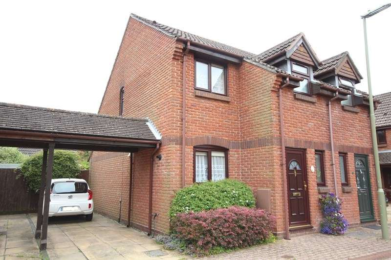 2 Bedrooms Semi Detached House for sale in Bishop Court, Ringwood