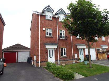4 Bedrooms Town House for sale in Spalding Avenue, Garstang, Preston, Lancashire