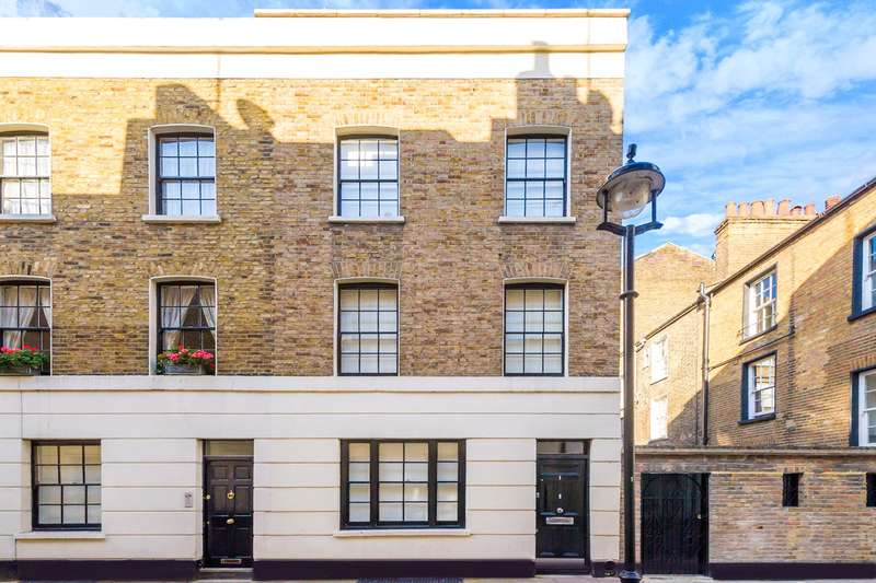 4 Bedrooms House for sale in Middleton Place, Fitzrovia, London, W1W