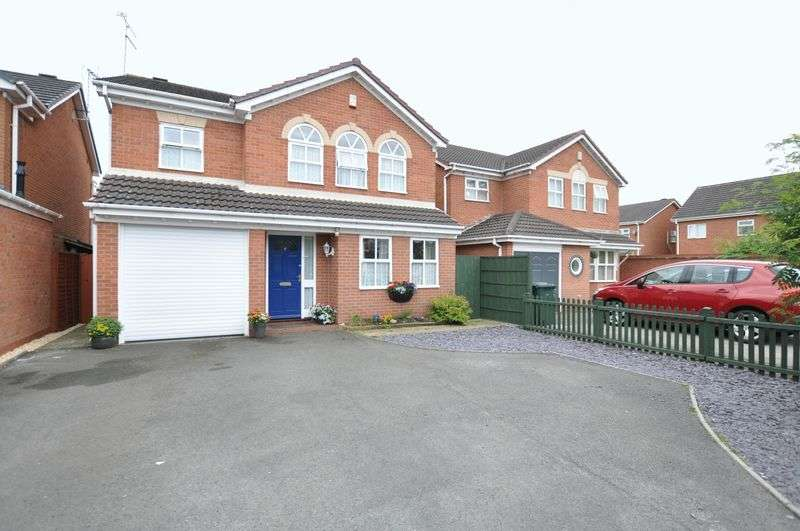 4 Bedrooms Detached House for sale in AVON WAY, HILTON