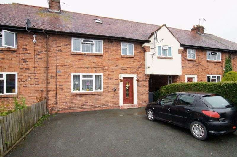 4 Bedrooms Terraced House for sale in Chestnut Avenue, Oswestry