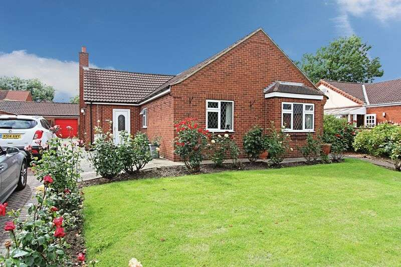3 Bedrooms Detached Bungalow for sale in Brocklesby Road, Ulceby