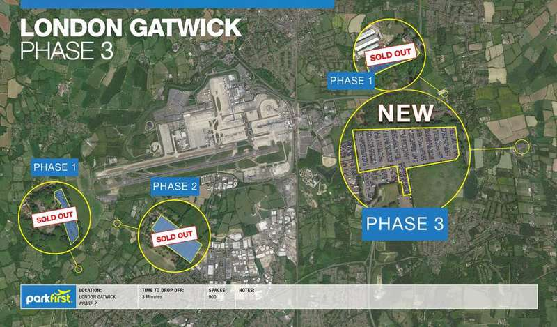 Commercial Property for sale in Gatwick Carpark 3, Gatwick