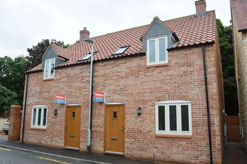 3 Bedrooms Semi Detached House for sale in Plot 8 Blacksmiths Yard Bar Lane, Waddington