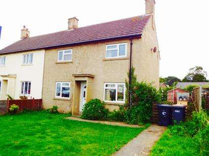 3 Bedrooms Semi Detached House for sale in The Green, Kirkby Malzeard, Ripon, North Yorkshire