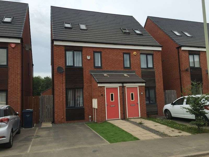 3 Bedrooms Semi Detached House for sale in St Aloysius View, Hebburn