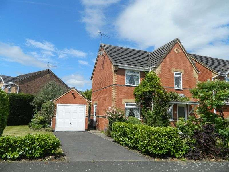 3 Bedrooms Detached House for sale in Goldsmith Drive, Sandbach