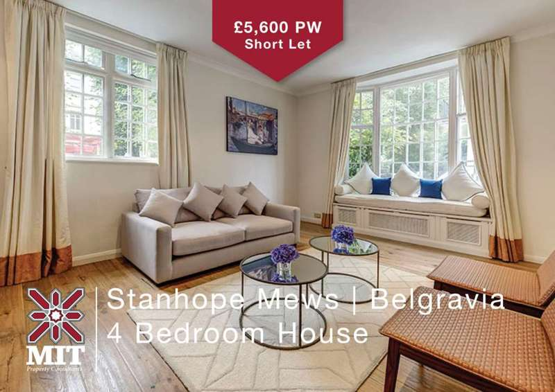 4 Bedrooms House for rent in Stanhope Mews, South Kensington