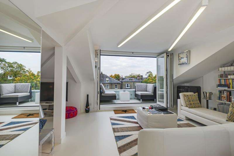 2 Bedrooms Flat for sale in Belsize Square, Hampstead