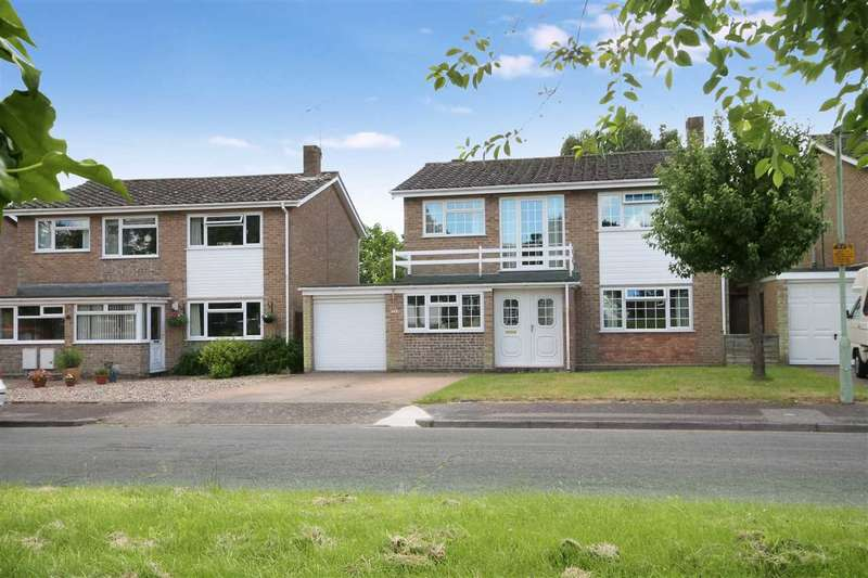4 Bedrooms Detached House for sale in Days Green, Capel St Mary