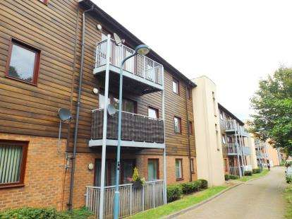 2 Bedrooms Flat for sale in Staverton Grove, Broughton, Milton Keynes, Buckinghamshire