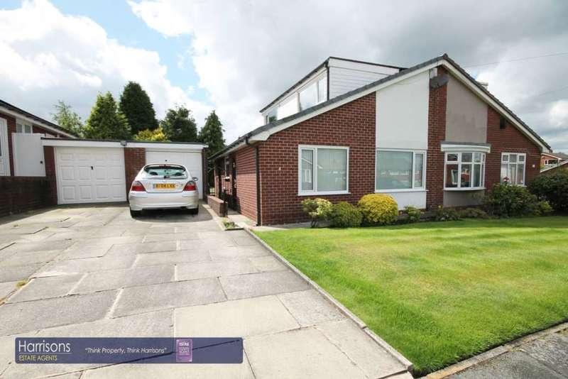 3 Bedrooms Bungalow for sale in Plymouth Drive, Farnworth, Bolton, Lancashire.