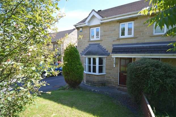 3 Bedrooms Semi Detached House for sale in Park Avenue, Shelley, HUDDERSFIELD, West Yorkshire