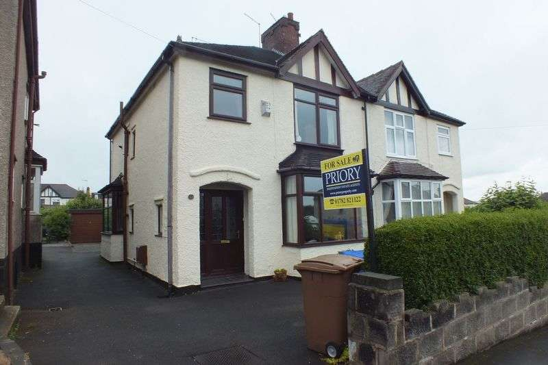 3 Bedrooms Semi Detached House for sale in Elaine Avenue, Burslem, Stoke-On-Trent