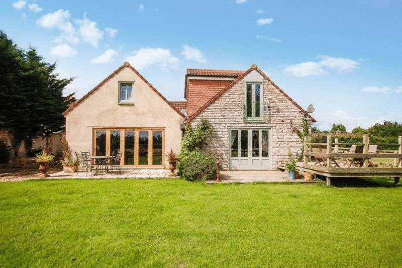 4 Bedrooms Detached House for sale in BARTON ST DAVID - Between Glastonbury, Castle Cary and Somerton