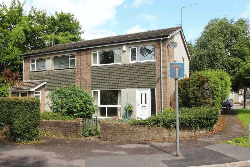 3 Bedrooms Semi Detached House for sale in Berkley Drive, Penarth