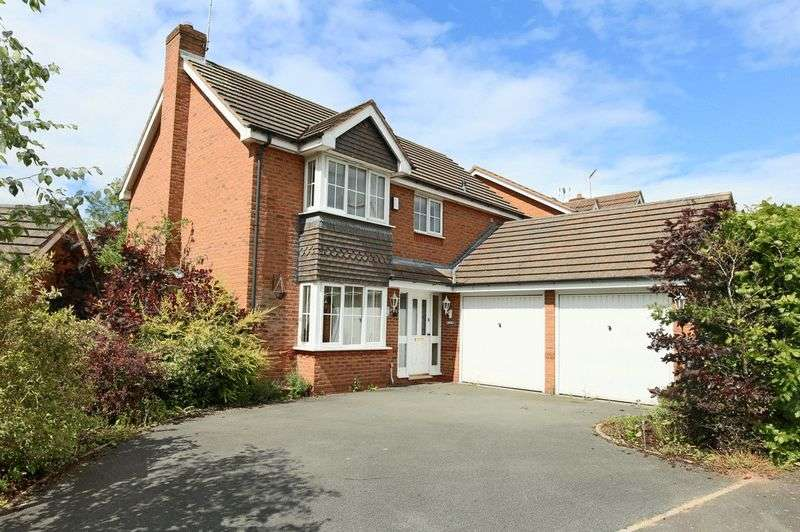 4 Bedrooms Detached House for sale in Burntwood View, Loggerheads, Market Drayton