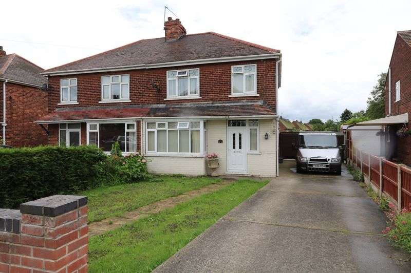 3 Bedrooms Semi Detached House for sale in Station Road, Keadby