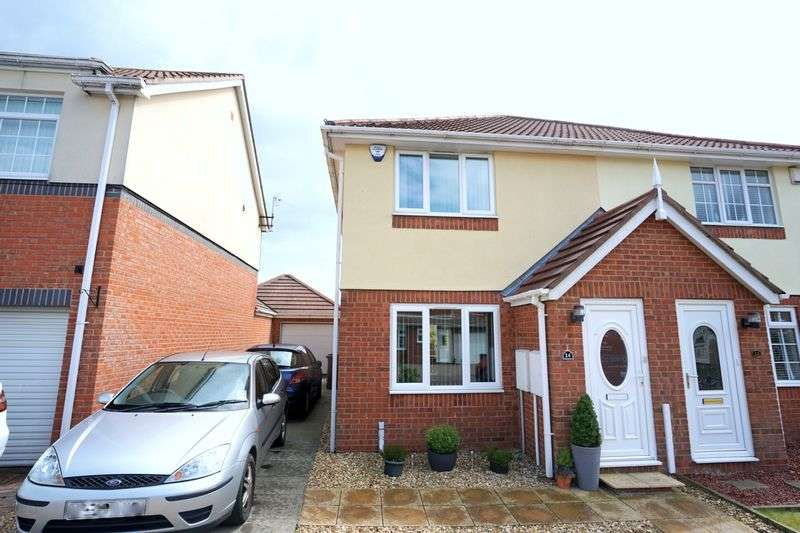 2 Bedrooms Semi Detached House for sale in THIRLMERE CLOSE, Killingworth