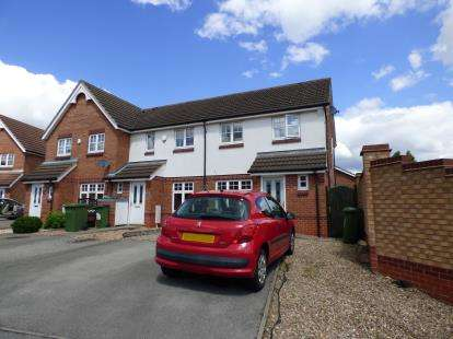 3 Bedrooms Semi Detached House for sale in Packhorse Drive, Enderby, Leicester, Leicestershire