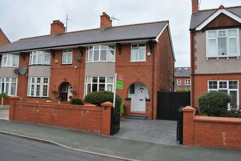 3 Bedrooms Semi Detached House for sale in Saxon Street, Wrexham
