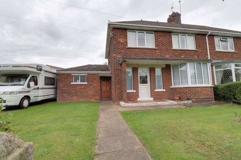 3 Bedrooms Semi Detached House for sale in Peterborough Road, Scunthorpe