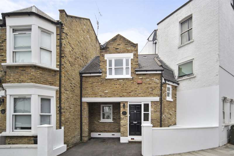 2 Bedrooms Terraced House for sale in Victoria Villas, Ewald Road, Parsons Green, Fulham, SW6