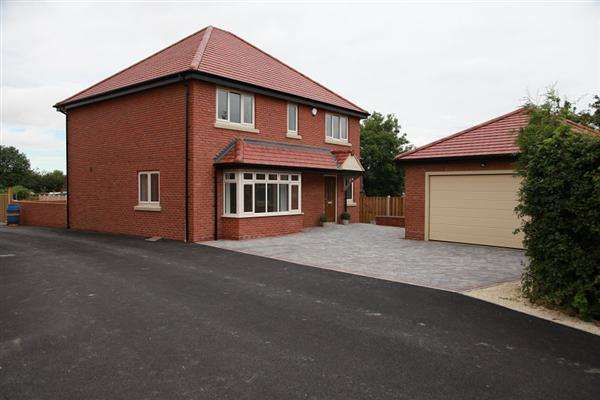4 Bedrooms Detached House for sale in Willow Farm Court, School Road, Wales, Sheffield