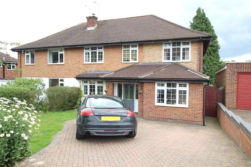 5 Bedrooms Semi Detached House for sale in Sherwood Avenue, St. Albans, Hertfordshire, AL4