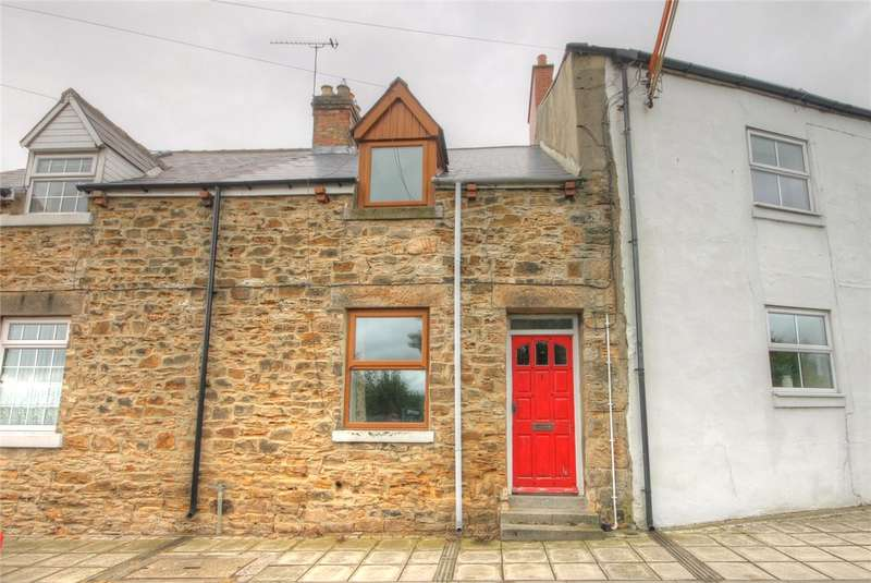 2 Bedrooms Terraced House for sale in Stonebank Terrace, Newfield, Bishop Auckland, DL14