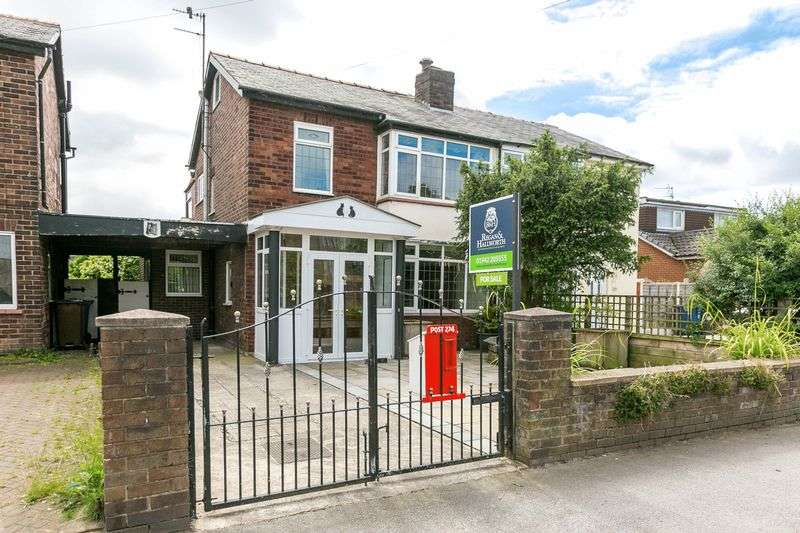 3 Bedrooms Semi Detached House for sale in Poolstock Lane, Poolstock. WN3 5JE
