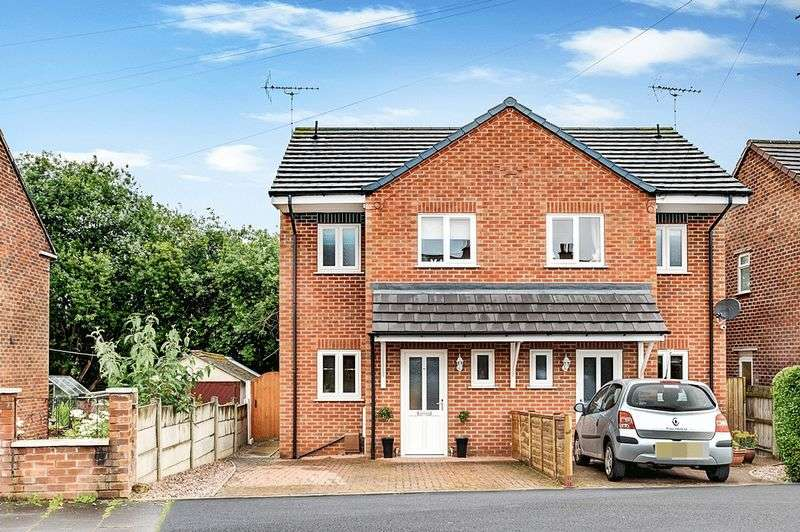 3 Bedrooms Semi Detached House for sale in St. Johns Road, Congleton