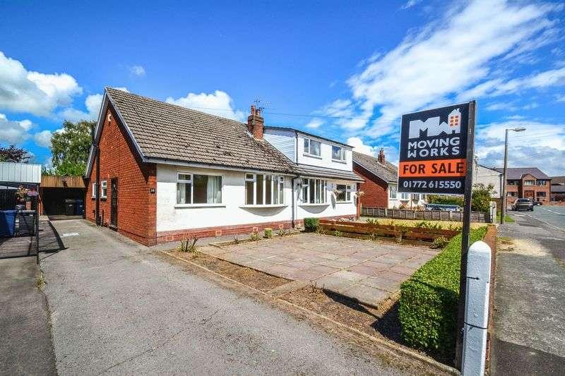 2 Bedrooms Semi Detached Bungalow for sale in True Bungalow - Hall Carr Lane, Walmer Bridge, Preston