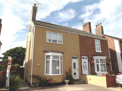 3 Bedrooms Semi Detached House for sale in Southfield Place, Horncastle, Lincolnshire