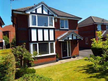 4 Bedrooms Detached House for sale in Old Gates Drive, Feniscowles, Blackburn, Lancashire