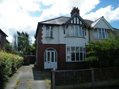 3 Bedrooms Semi Detached House for sale in Cromwell Road, Northwich, Cheshire