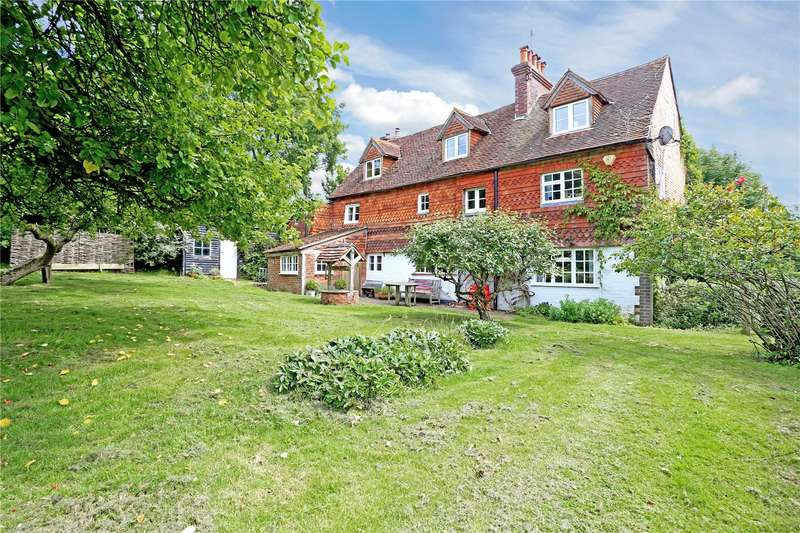 4 Bedrooms Detached House for sale in Friday Street, Rusper, Horsham, West Sussex, RH12