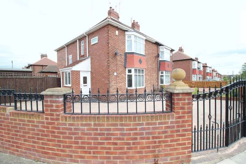 3 Bedrooms Semi Detached House for sale in Hartleyburn Avenue, Hebburn