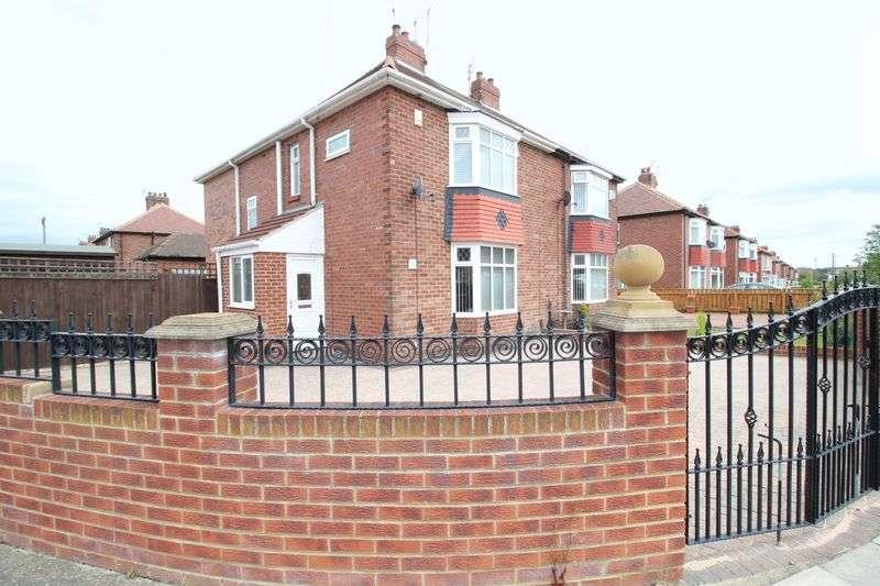3 Bedrooms Semi Detached House for sale in Hartleyburn Avenue, Hebburn