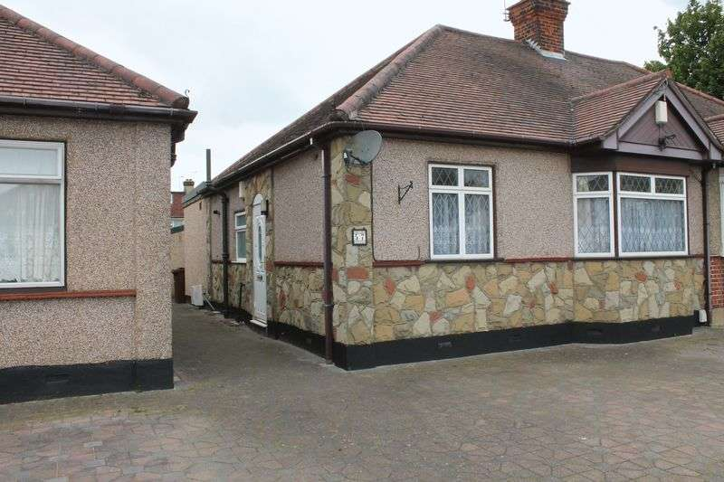 2 Bedrooms Semi Detached Bungalow for sale in Crowstone Road, Grays, Essex