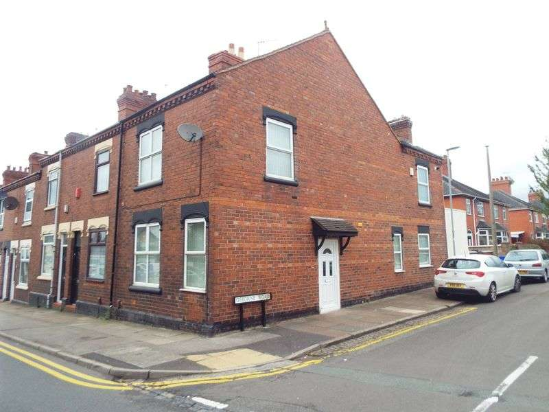 3 Bedrooms Terraced House for sale in Osbourne Road, Hartshill, Stoke-On-Trent