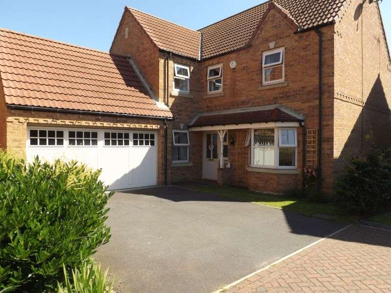 4 Bedrooms Detached House for sale in Wood Farm Close, NETTLETON
