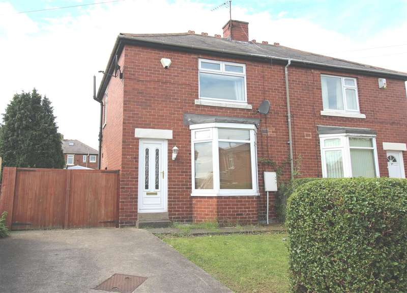 2 Bedrooms Semi Detached House for sale in Queens Crescent, Wallsend, Newcastle Upon Tyne