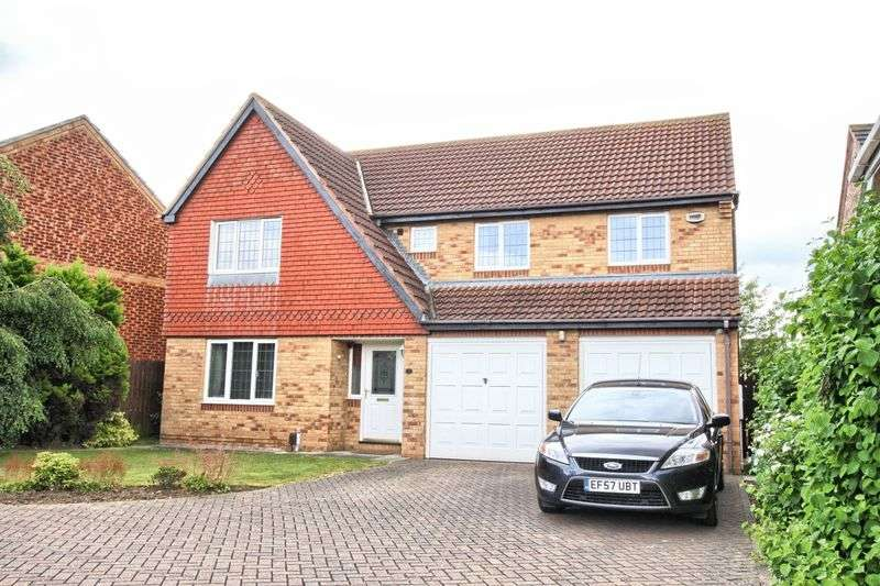 4 Bedrooms Detached House for sale in Nevern Crescent,Ingleby Barwick